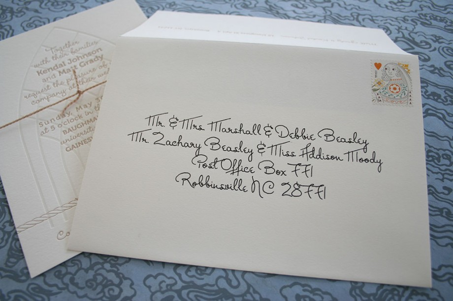 How To Address Wedding Invitations Without Inner Envelope with nice invitations ideas